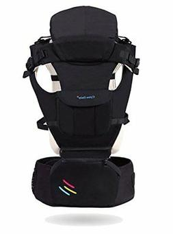 CYLEN 100% Cotton 10 in 1 Baby Carrier Featuring a Hip Seat