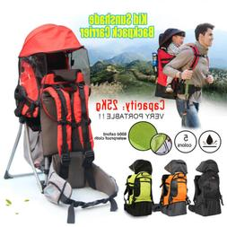 1xNew Baby Backpack Camping Hiking Child Kid Toddler Carrier