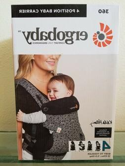ErgoBaby 360 4 Positions Ergonomic Baby to Toddler Carrier K