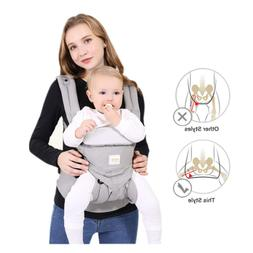SpringBuds 360 All Carry Positions Ergonomic Baby Carrier Al