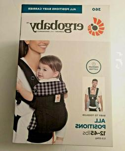 ERGOBABY 360 ALL POSITIONS ERGONOMIC BABY TODDLER CARRIER GI