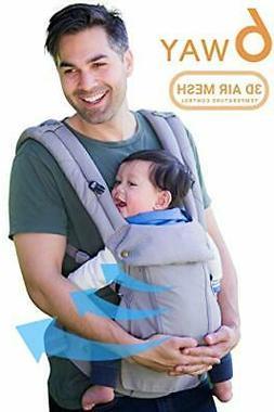 360 Ergonomic Baby Carrier - All Season Baby Sling - 6 Posit