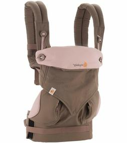 Ergobaby 360 Four Position Baby Carrier- color Taupe & Lilac