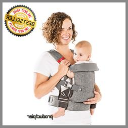 4-in-1 Convertible Baby Carrier with 3D Cool Air Mesh - Heat