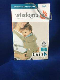 ERGOBABY 4 POSITION 360 BABY CARRIER - MOONSTONE - 12-33 LBS