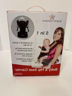Brighter Elements 5 in 1 Baby & Hip Seat Carrier BB018 Padde