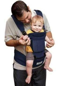 6 in 1 Baby Steps Baby Carrier w Hip Seat, NAVY BLUE- Great