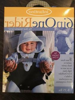 INFANTINO 6 In One Rider Baby Carrier 8-35 lbs **NIB**