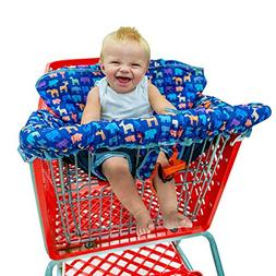 Busy Bambino 2-in-1 Shopping Cart Cover | High Chair Cover f