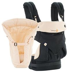 Ergobaby Bundle - 2 Items: Black/Camel 4 Position 360 Carrie