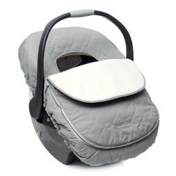JJ Cole Car Seat Cover for Infants, Graphite