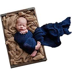 Sunmig Newborn Baby Stretch Wrap Photo Props Wrap-Baby Photo