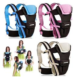 Adjustable 4 Positions Baby Carrier 3d Backpack Pouch Bag Wr