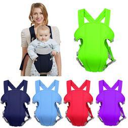 Adjustable Infant Baby Carrier Wrap Sling Newborn Backpack B
