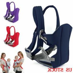 Adjustable Infant Baby Carrier Wrap Sling Newborn Backpack B