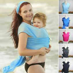 Adjustable Infant Breathable Newborn Baby Carrier Ring Sling