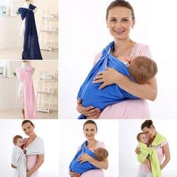 Adjustable Newborn Baby Toddler Carrier Ring Sling Wrap Back