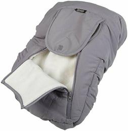 Jolly Jumper Arctic Sneak-A-Peek Car Seat Cover With Attache