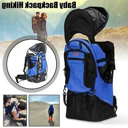 Baby Backpack Camping Hiking Child Kid Toddler Carrier Shade