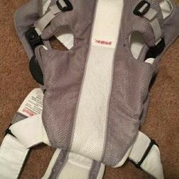 Baby Bjorn Baby Carrier Mesh One Air White Gray  8-22 Lbs Ba