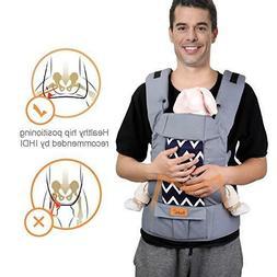 Bable Baby Carrier, 3 in 1 Ergonomic Multi-Position for 12-2
