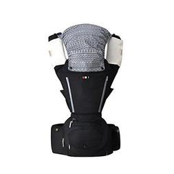 Baby Carrier Backpack with Hip Seat 6 in 1 Ergonomic Baby Ca