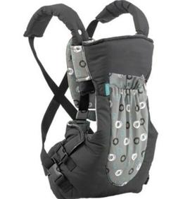 Infantino Baby Carrier Black With Front Pocket Infant Front