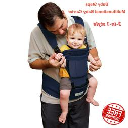 Baby Steps Baby Carrier Ergonomic Multi Functional Hipseat B