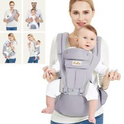 Viedouce Baby Carrier Ergonomic with Hip Seat/ Pure Cotton L