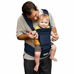 BABY STEPS Baby Carrier Hip Seat Ergonomic 6-in-1, Soft Carr