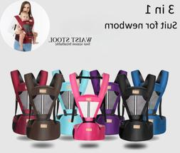 Baby Carrier Hip Seat Ergonomic Multifunctional Waist Suppor