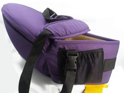 Baby Carrier Hip Seat NEW with Tags Neck Strap Purple Back S
