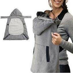 Baby Carrier Jacket Sling Hoodie Coat Kangaroo Babywearing M