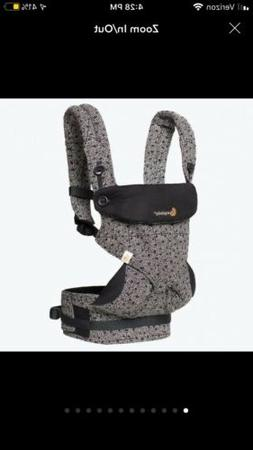 Ergobaby Baby Carrier, New In Box, Black Printed Limited Edi