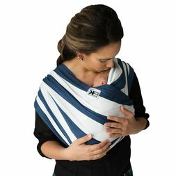 Baby K'tan Blue Navy White Stripe Carrier Wrap Small Extra M