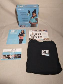Baby K'tan BREEZE Baby Carrier Sling Size Small Black W/Box