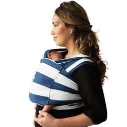 Baby K'Tan NIB Navy Stripe Easy Baby Carrier Baby Wrap Baby
