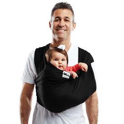 Baby K'Tan Original Baby Carrier, Black, Medium 8-35 Lb 100%