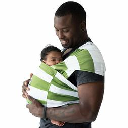 Baby K'tan Original Baby Carrier, Olive Stripe, Small