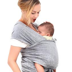 Innoo Tech Baby Sling Carrier Natural Cotton Nursing Baby Wr