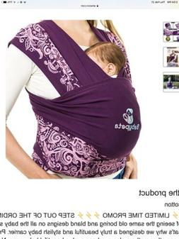 Baby Peta Baby Wrap Carrier Newborn Sling for Birth- 35 Poun