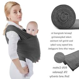 Cuby Baby wrap Carrier- Strechy Baby Carrier for Infants and