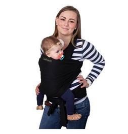 Baby Wrap Ergo Carrier Sling by CuddleBug Baby Black Wrap