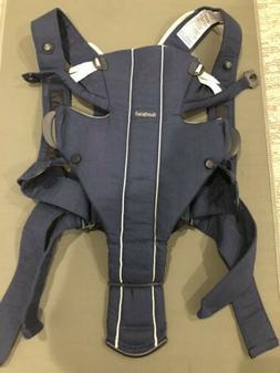 BABYBJORN Baby Carrier Original -Navy Cotton