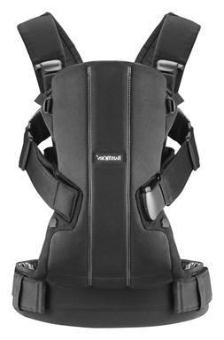 BABYBJORN Baby Carrier We - Black, Cotton - NEW