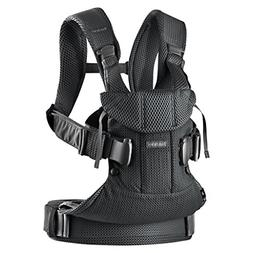 BABYBJÖRN New Baby Carrier One Air 2019 Edition, Mesh, Blac
