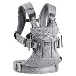 BABYBJÖRN New Baby Carrier One Air 2019 Edition, Mesh, Silv