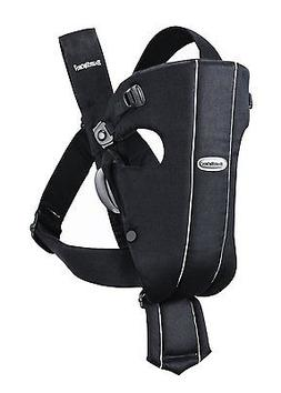 BabyBjorn Original Nursing Infant Baby Carrier City Black Co