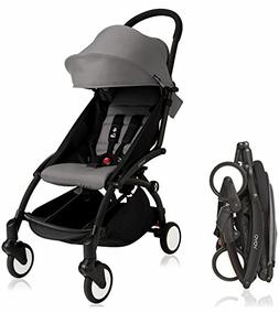 BabyZen YOYO Stroller - Black/Grey + BabyZen YoYo