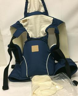 BEBEAR BEBAMOUR Blue 2 in 1 Baby Carrier and Sling